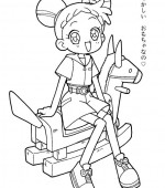 coloriage magical doremi 014